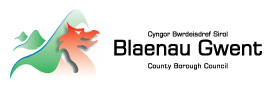Tenant: Blaenau Gwent County Borough Council logo