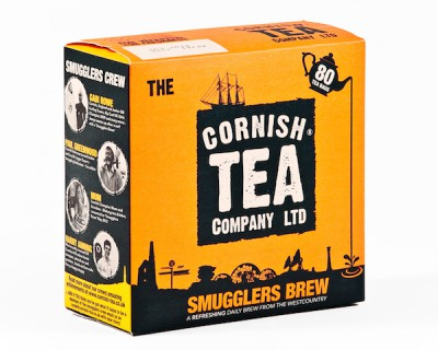 Box of Cornish Tea for sustainabili-TEA article